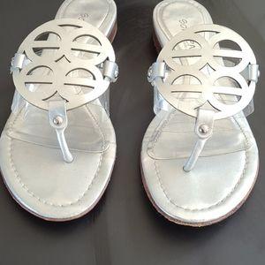 COPY - Cute little silver sandals
